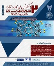 کنفرانس ملی نانو ساختارها - علوم و مهندسی نانو -