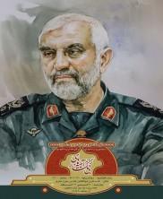 افتتاحیه نمایشگاه نقاشی شهدای مدافع حرم